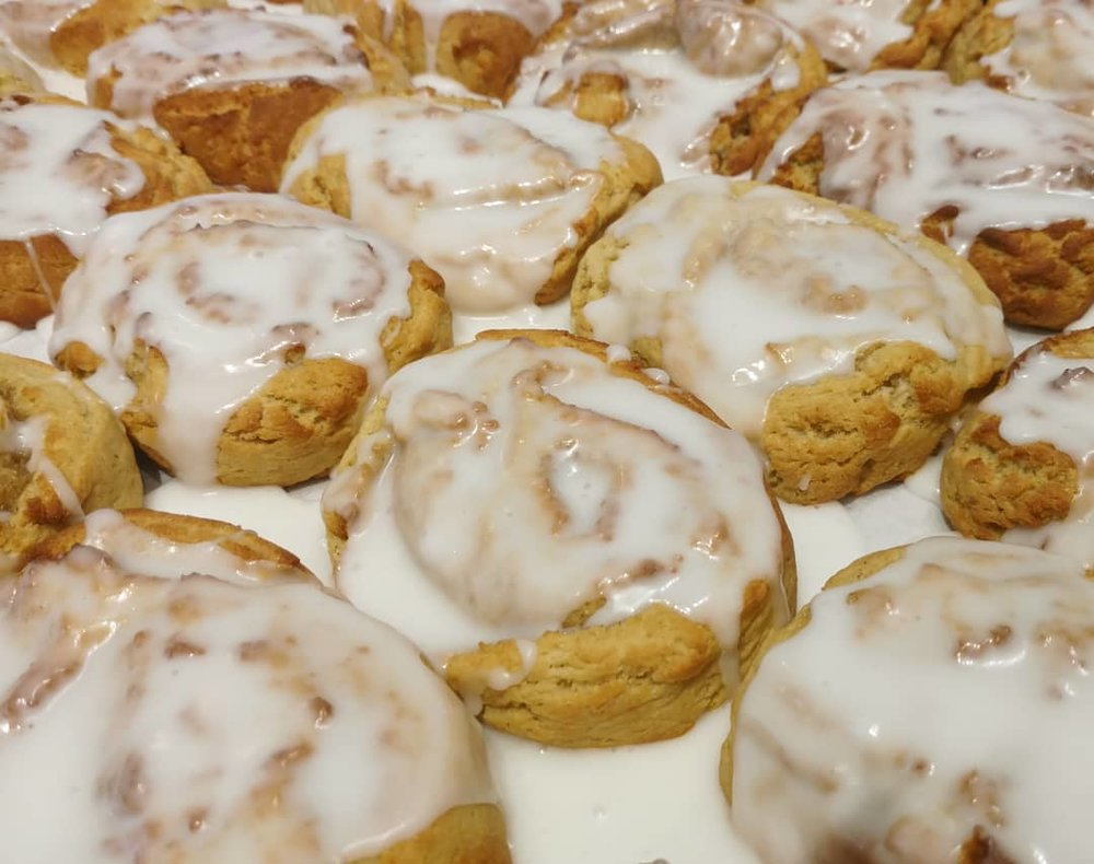 Specials - Cinnamon Buns (Saturdays & Sundays)Fried Donuts (Saturdays)