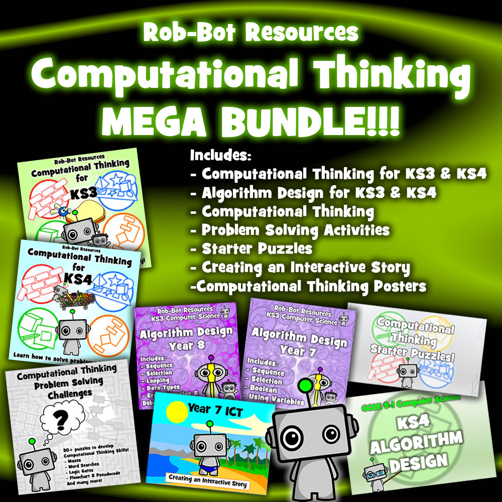 Computational Thinking MEGA BUNDLE! - £14.95