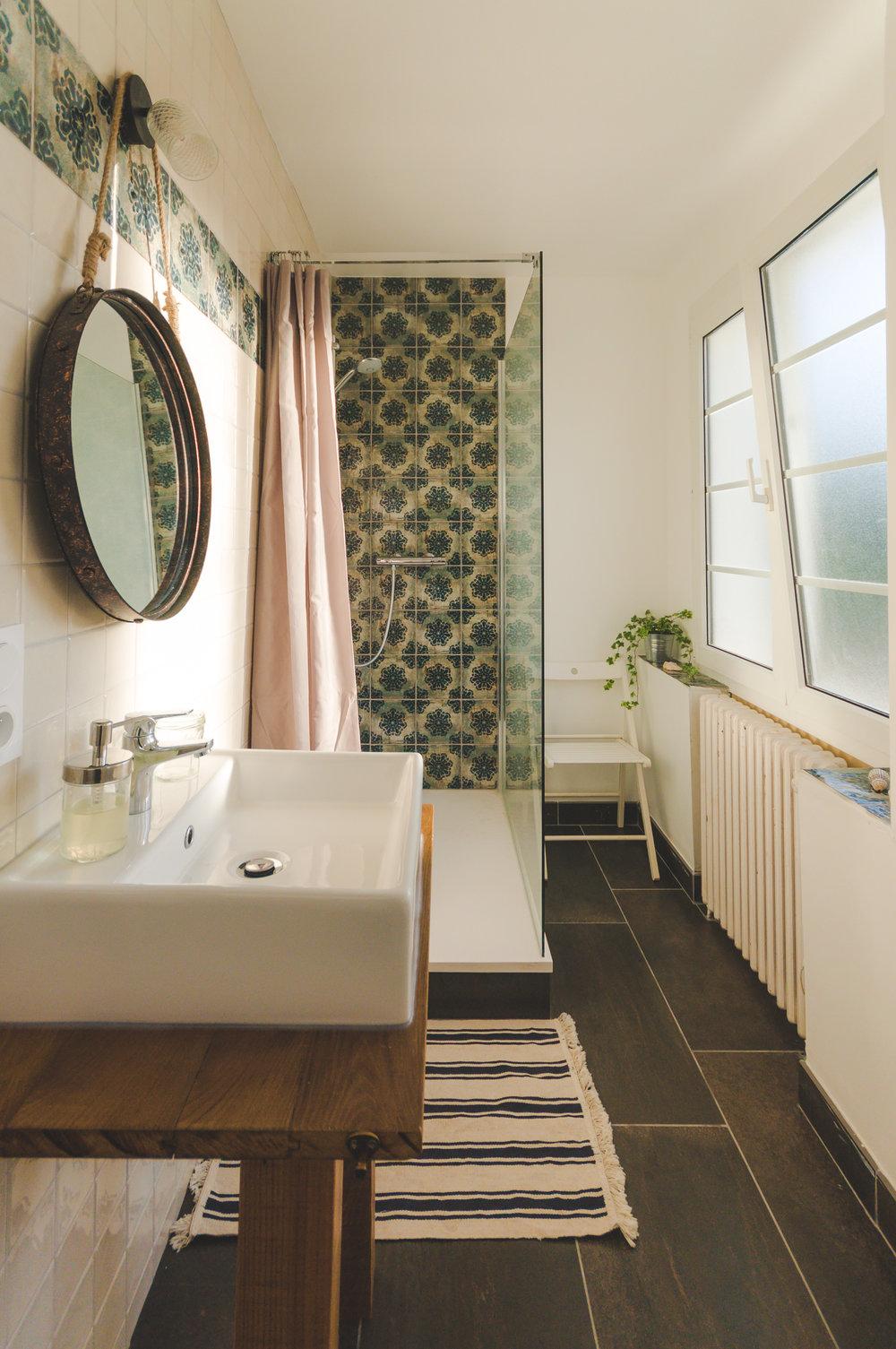 salles de bains individuelles