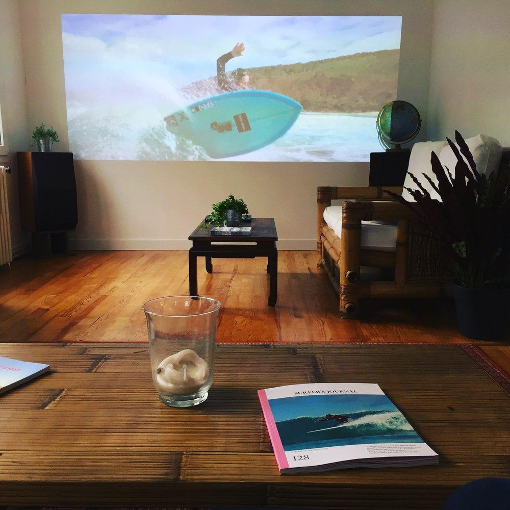diffusion de films de surf