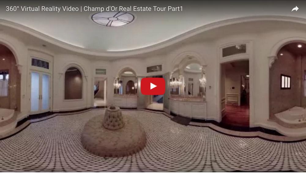 360 Virtual Reality Video   Champ d'Or Real Estate