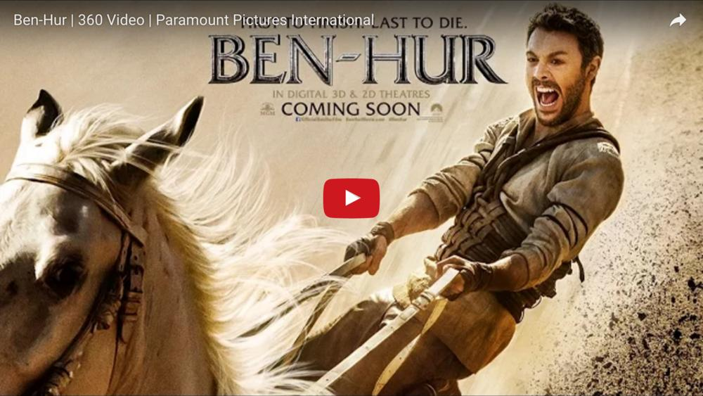 Ben-Hur | 360 Video | Paramount Pictures International