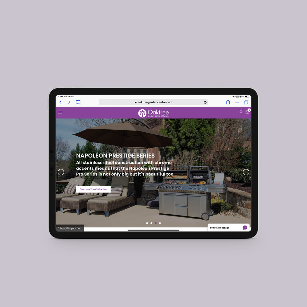 Oaktree Garden Centre   Homepage
