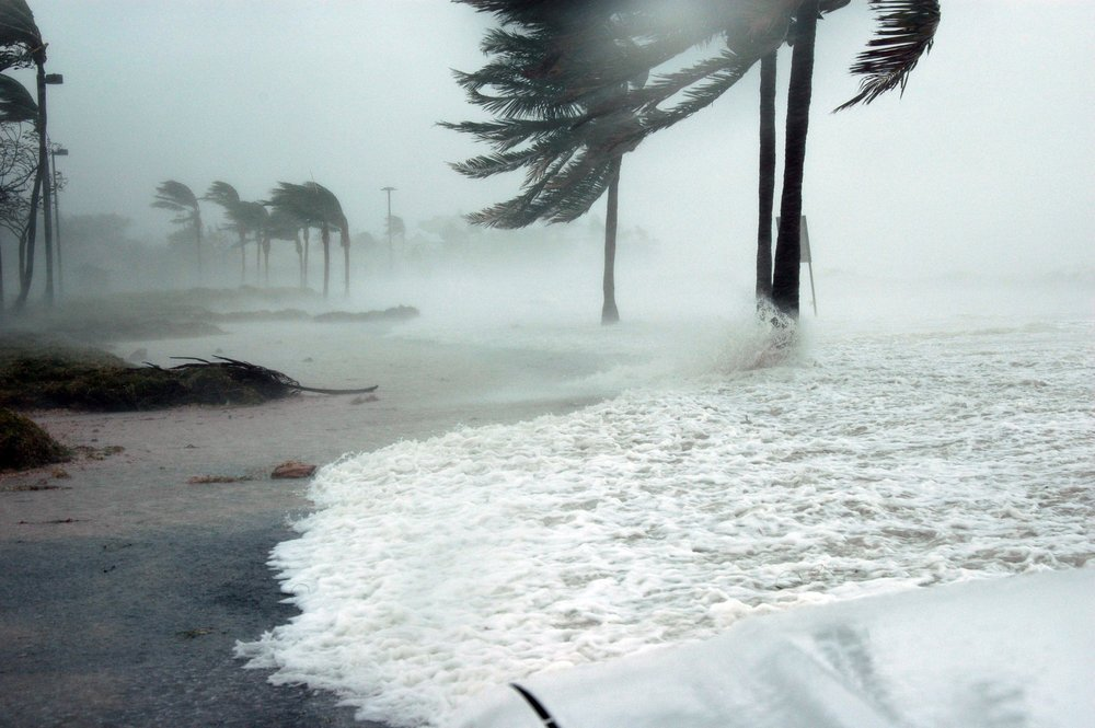 Warmer winds, ocean currents, and surface temperatures mean stronger storms, whether they be in the form of snow, wind, or water. Photo: Pixabay