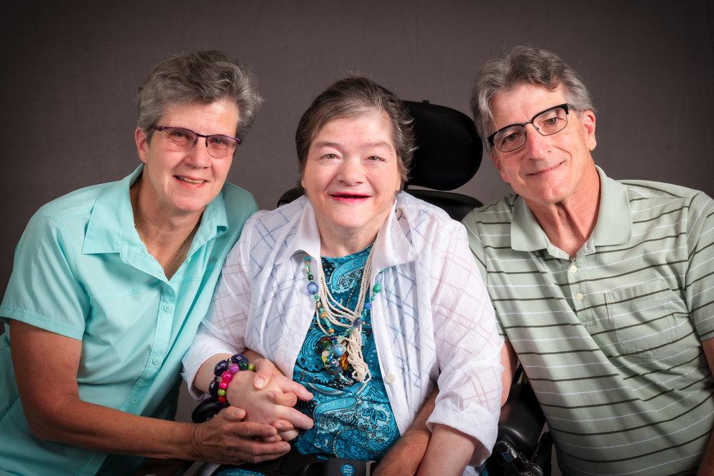 The Alana Avanzino Family - Janice, Alana, and Skipp