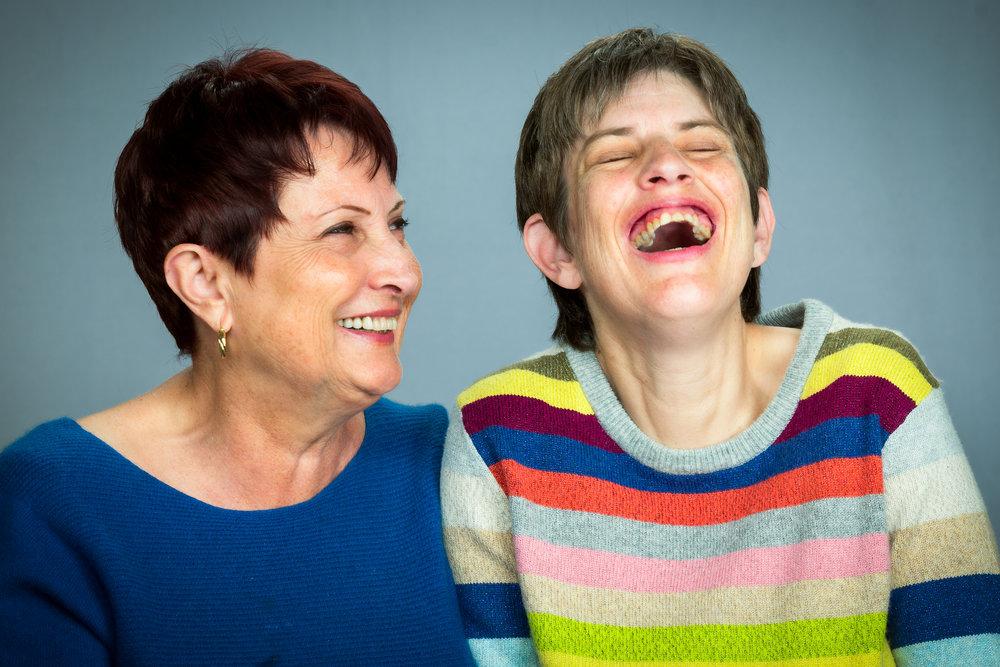 Amber and her mother Karen Moen