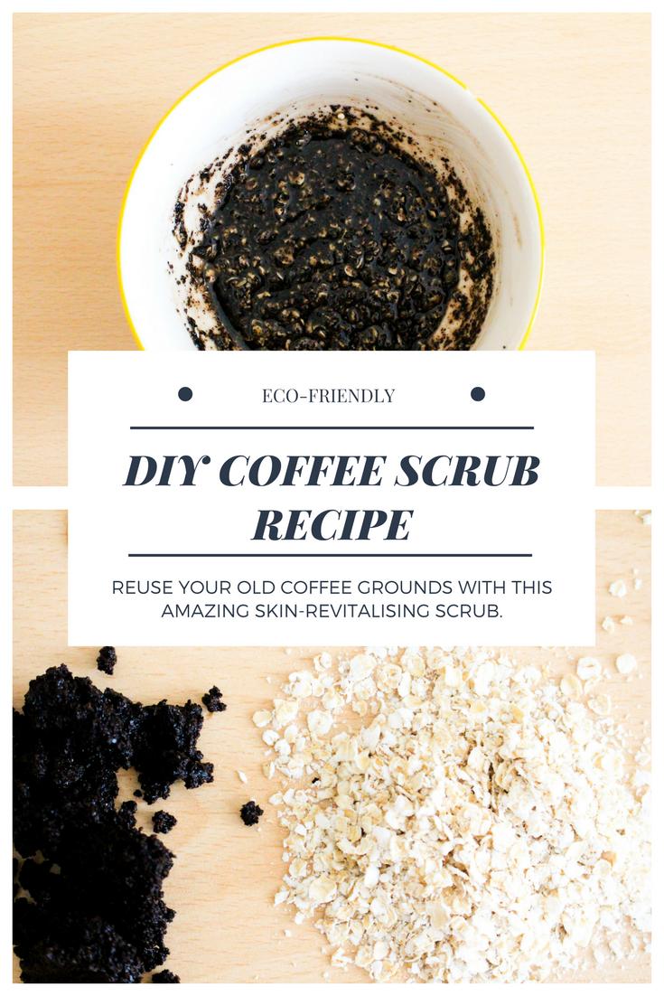 Pinterest DIY Coffee Scrub Recipe
