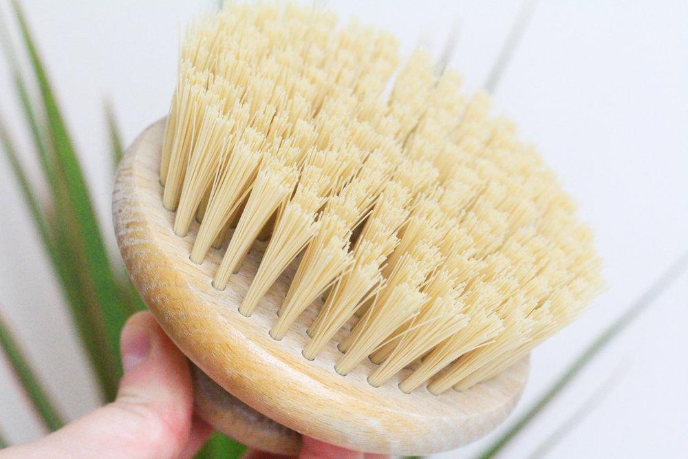 Shower Routine Zero Waste The Body Shop Body Brush