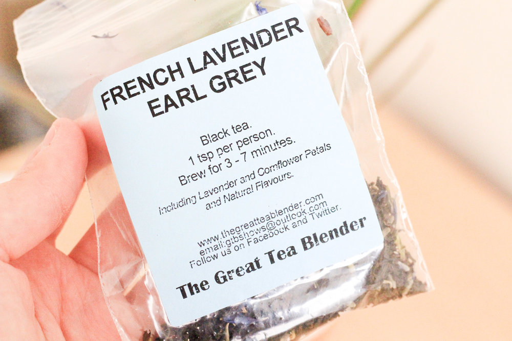 The Tea Room Hull French Lavender Earl Grey Packet