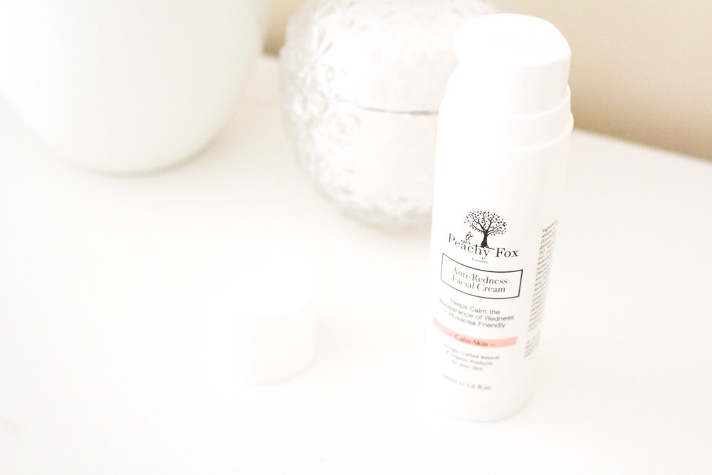 Peachy Fox London Anti-Redness Facial Cream Cruelty Free Beauty