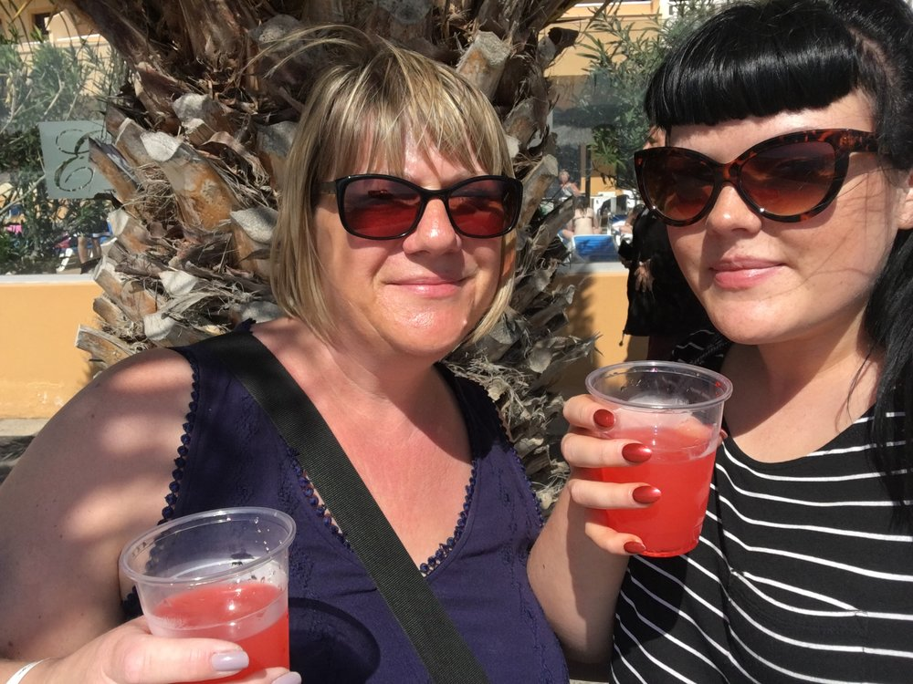 Sampling the Cocktails in Caleta De Fuste Fuerteventura