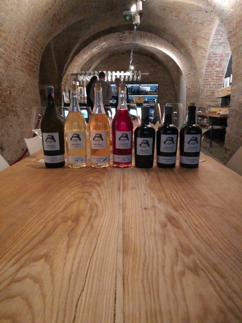 "Tastings @ WineBANK Wien - We happily organize a tasting of our wines on appointment. Our tasting facility is located in the 1st district in WineBANK imn the ""Kipferlhaus"", right behind St. Stephens Cathedral..WineBANK WienGrünangergasse 8A-1010 Wien"