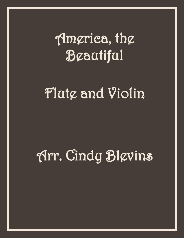 Flute and Violin Duet, Hymns and More — Cindy Blevins Music