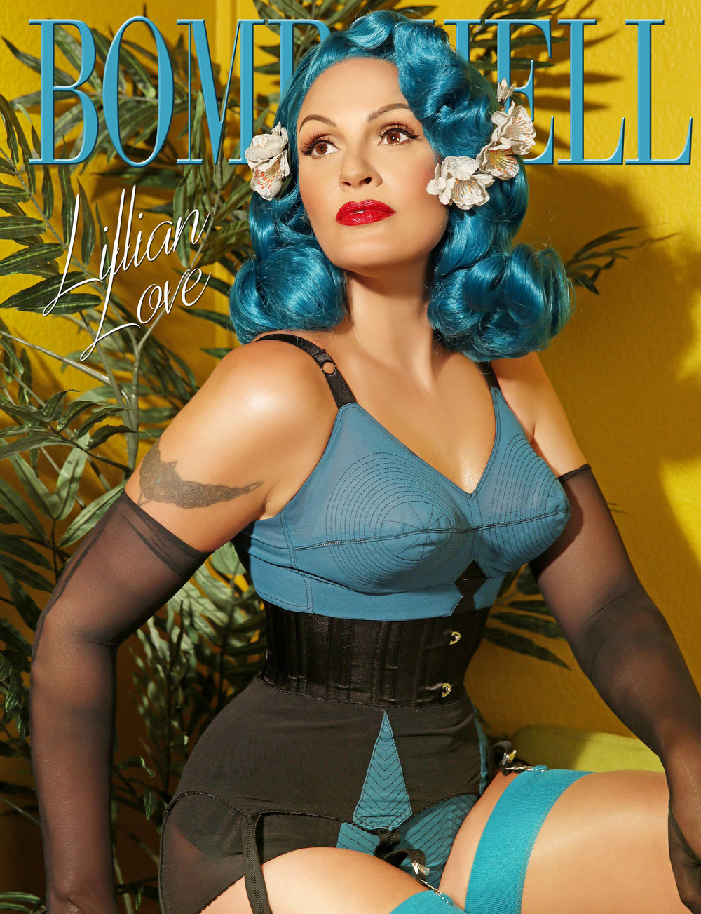 BOMBSHELL Magazine September BOOK 1 Lilian Love Cover.jpg