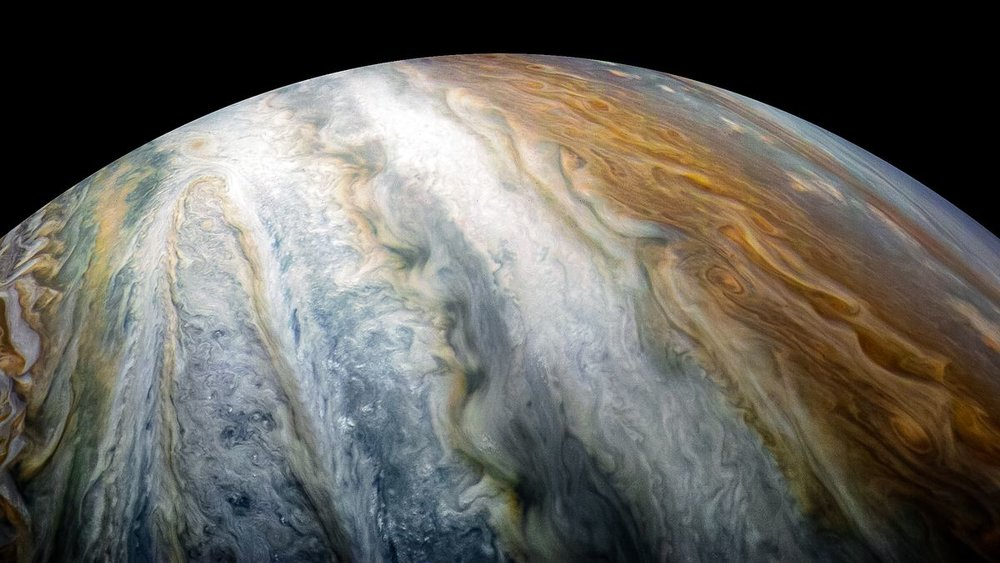 Jupiter, a predominantly gaseous planet and the largest in our solar system. Photo credit: NASA