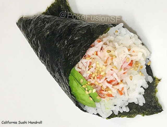 Have you tried our handrolls? The California will be available this week on @ubereats !