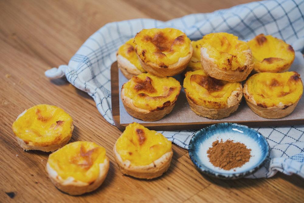 Vegan Pastéis De Nata Makkelijke Portugese Custardgebakjes