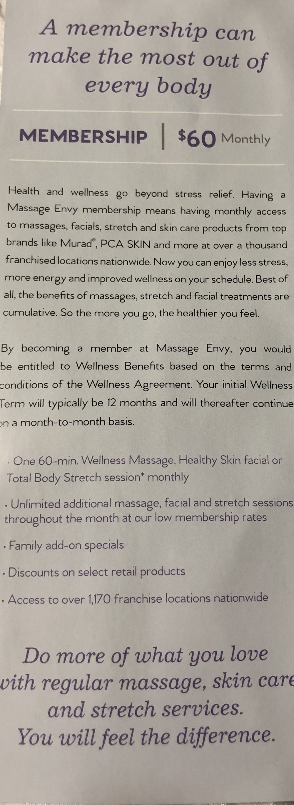 Additional Membership Details