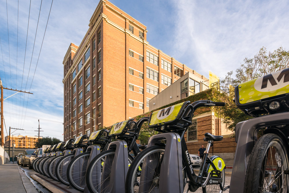 Biscuit Company Lofts 1850 INDUSTRIAL St # 110 Los Angeles bikes.JPG