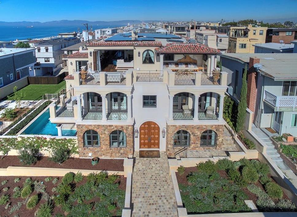 Sold for $16M in Manhattan Beach