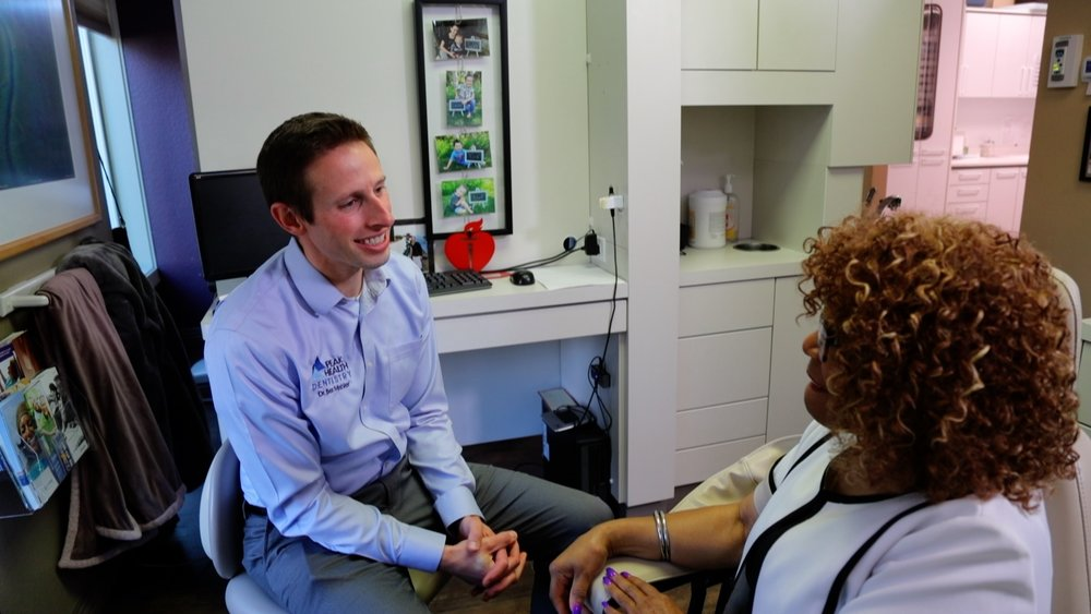 When you come in for your appointment, we will go over all of the sedation options and walk you through the process. Our goal is for you to be as relaxed as possible, with no anxiety. -