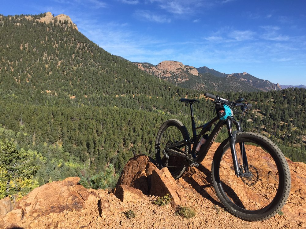 North Cheyenne Cañon - A huge trail system with over 50 miles of trail, loose and flowy terrain, and days worth of exploring to be had.