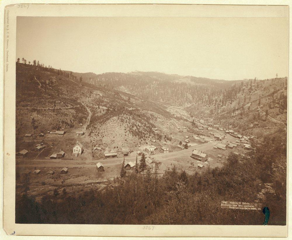 Galena, 1890. Photo by John C. H. Grabill [   Public domain   ] license,    via Wikimedia Commons