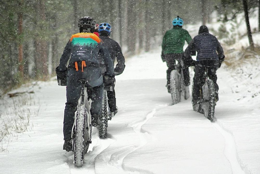 fatbiking, fatbike, snow, snow riding, two wheeler dealer, two wheeler dealer cycle and fitness, black hills, south dakota