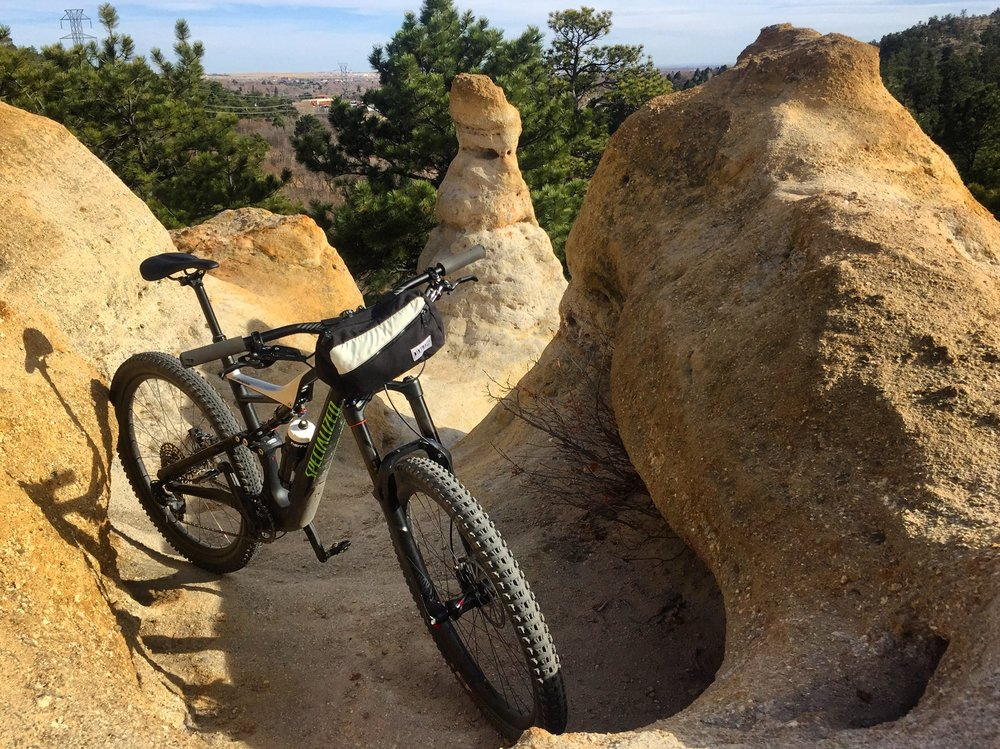 Palmer Park - A rocky, fun, technical playground for MTBers with over 20 miles of trail.