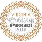 We have been awarded Virginia Weddings Top Wedding Vendor for 2019