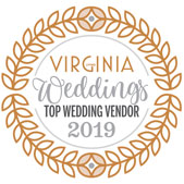 We are a 2019 Virginia Living Weddings Top Wedding Vender