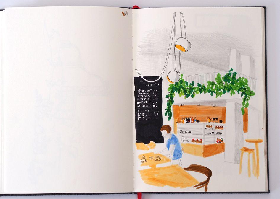 Kahvilapäiväkirja / IPI