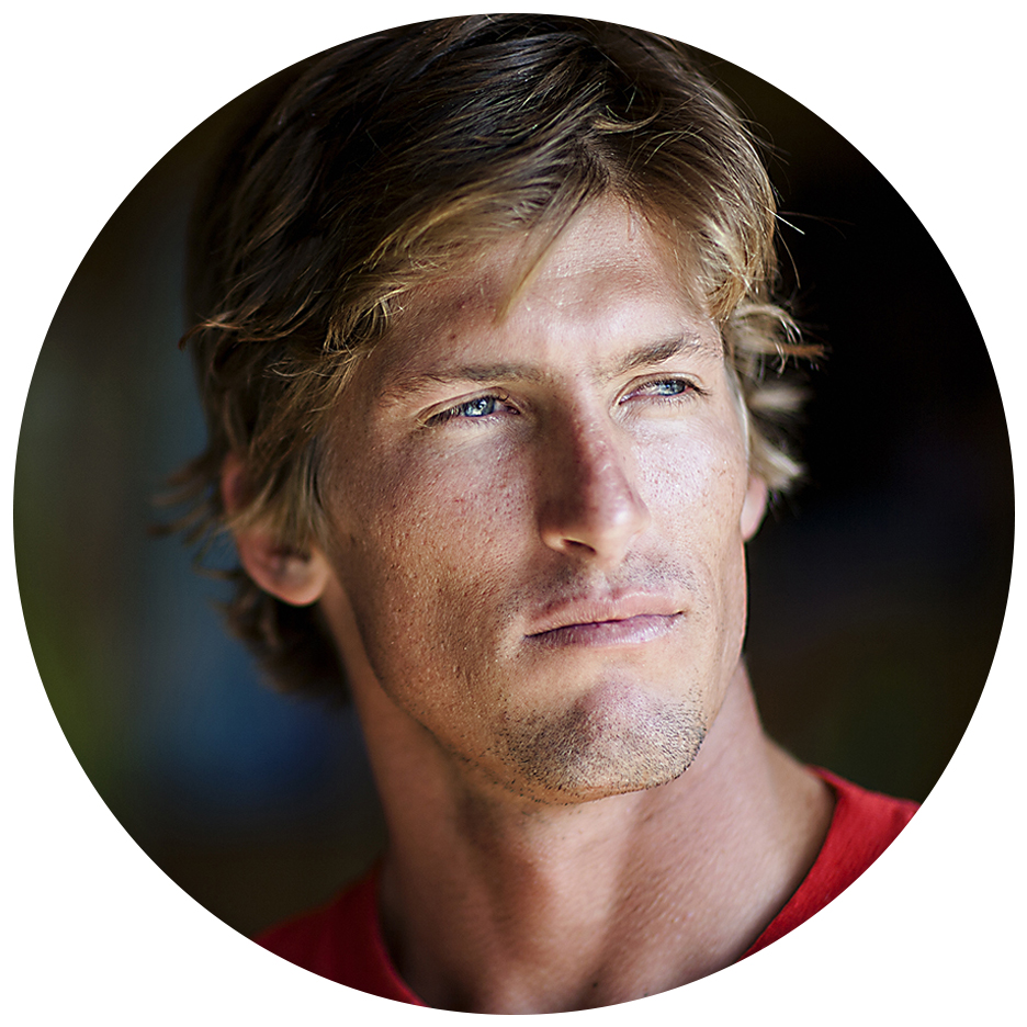 "Bruce Irons - ""Brian's been shooting for 40 years and he is one of the best! I want somebody who I trust is going to get the shot the first time. We have been traveling and shooting together for years. He is my go to guy!""- Bruce Irons (Professional Surfer)"