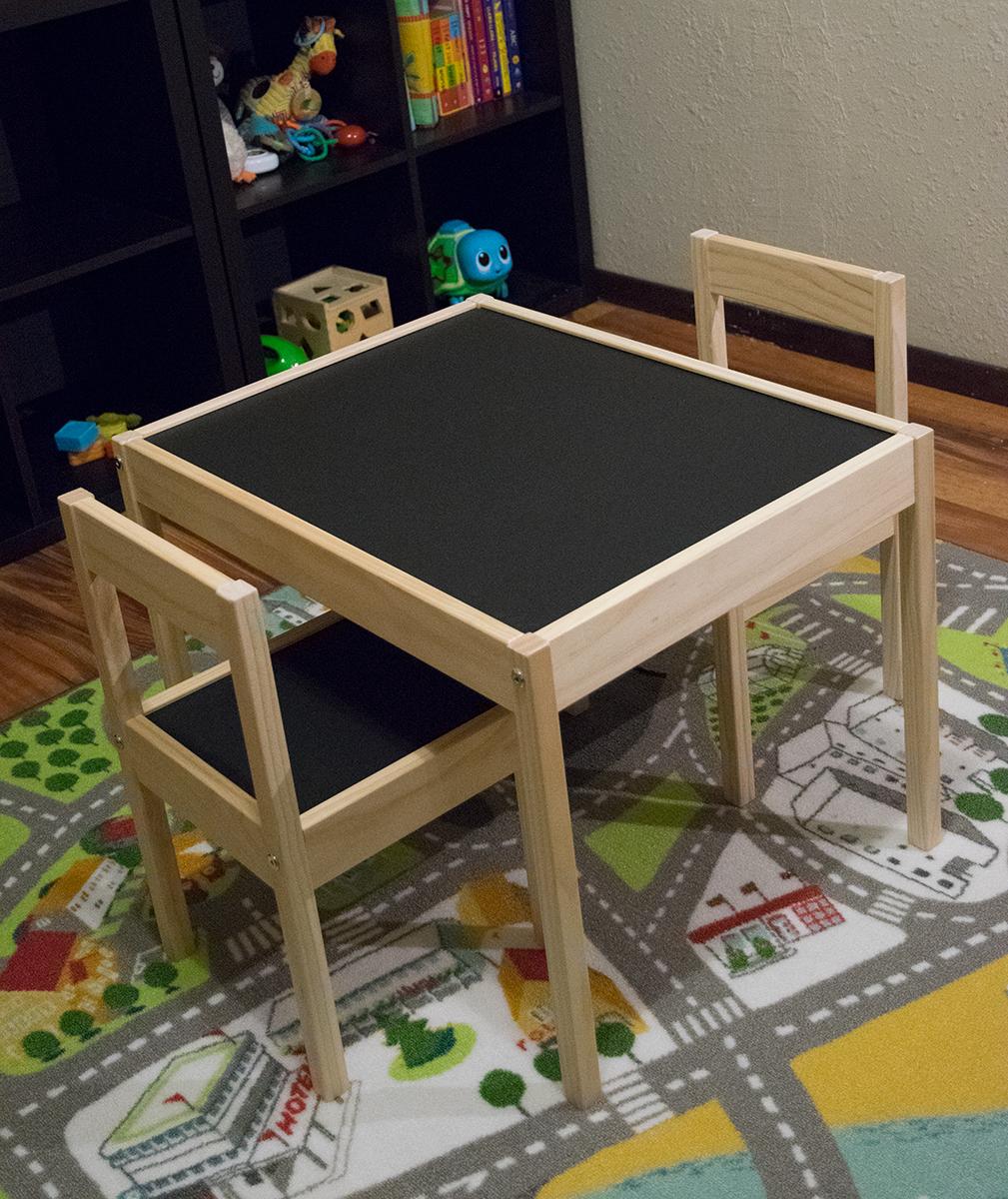 Playroom remodel making a space kid friendly