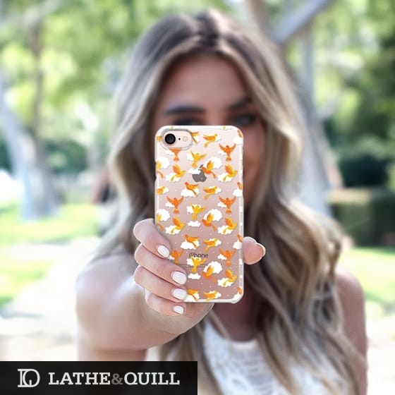 Casetify has strong durable cases that look great too like this birdy pattern