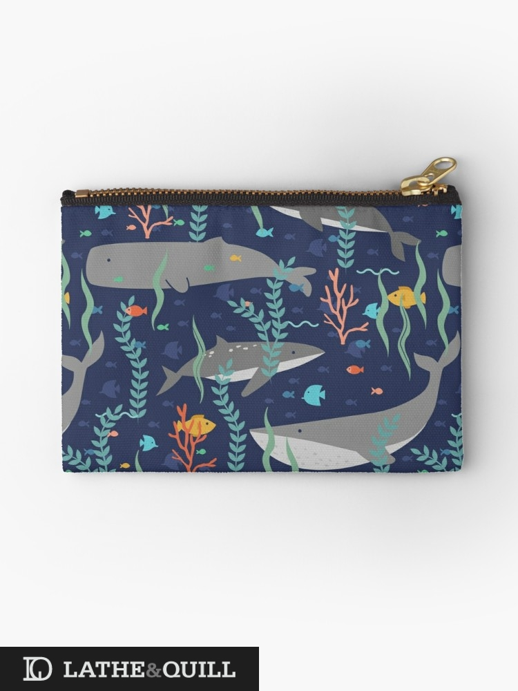 Pouch from Redbubble or Society6