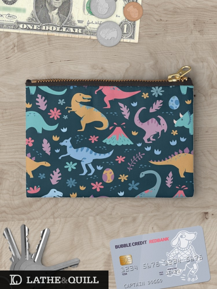 Cute pattern pencil pouch for back to school