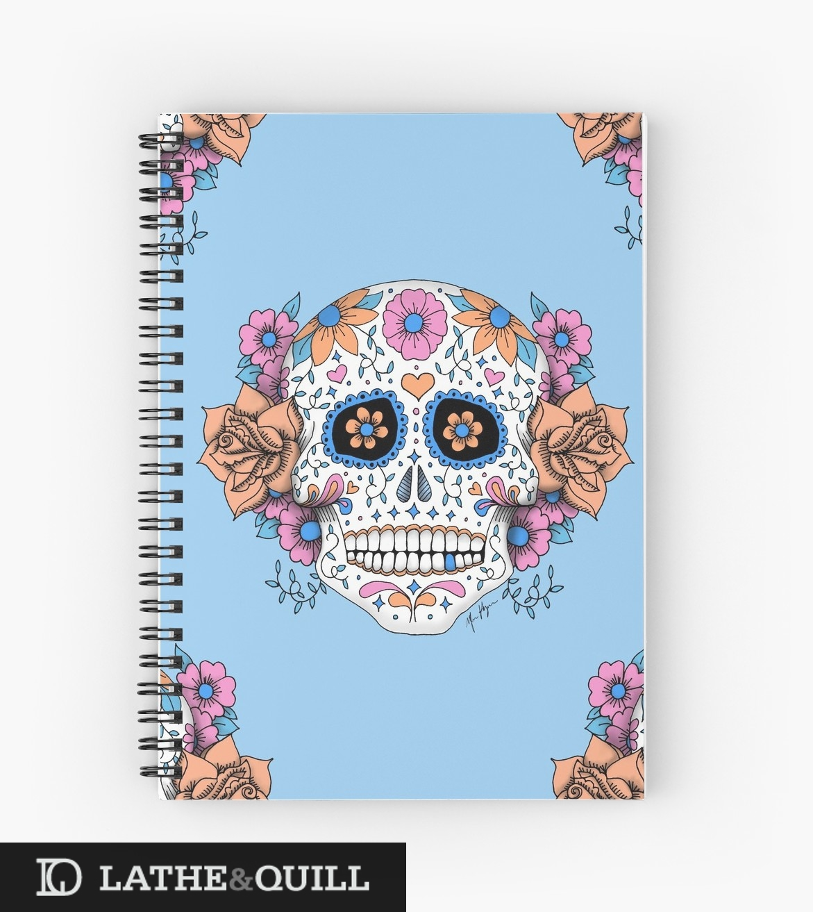 Get ready for Fall with this dia de los muertos inspired design