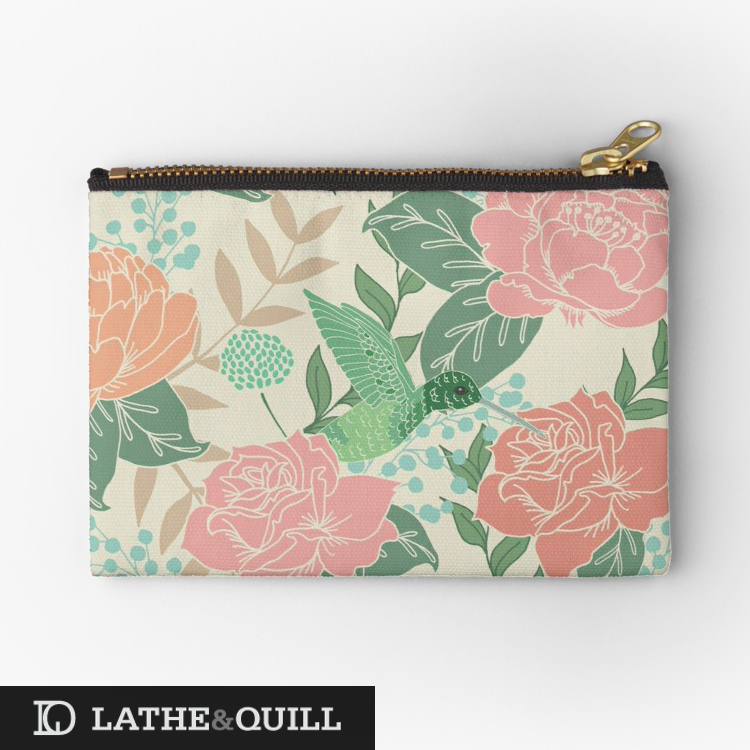 catch all the small items in your purse in one beautiful bag