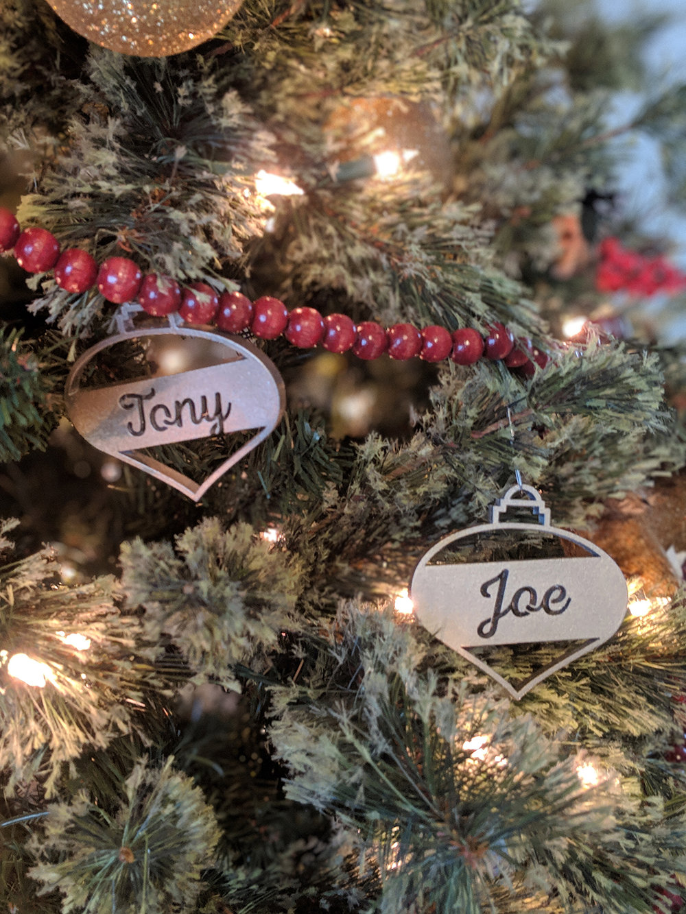 Silver and Gold Unique ornaments
