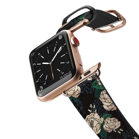Dress your apple watch band in elegance with this new floral design of peonies and ranunculus