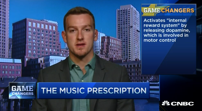 CNBC - Music therapy hopes to change brain injury treatment