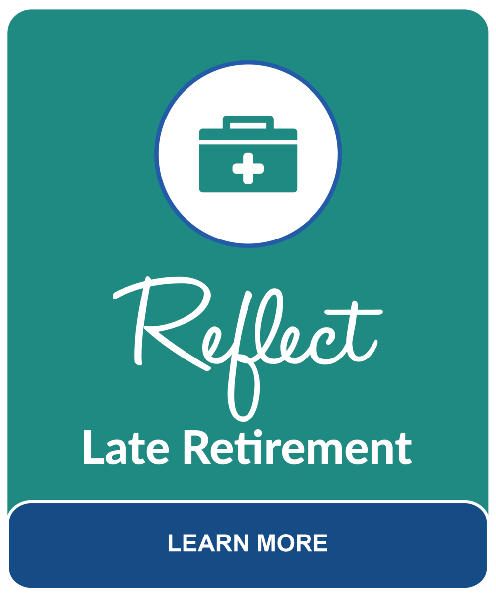 A time to Reflect occurs in Late Retirement. You must always be comfortable with your financial decisions and know that your advisor is really listening to you. Consult our Fee-Only Retirement Planner.