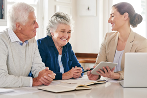 There are ways to structure your finances or your parents finances to minimize tax, plan for and simplify the estate.