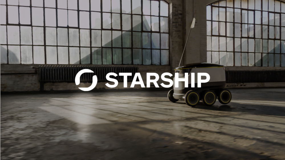 Starship Technologies - Autonomous robot-powered local delivery service, disrupting the $2 trillion local delivery industry