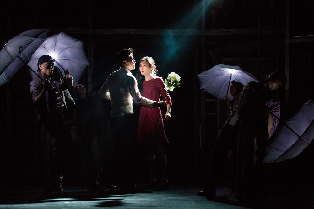 """""""Heart stoppingly thrilling."""" - – Broadway Baby"""