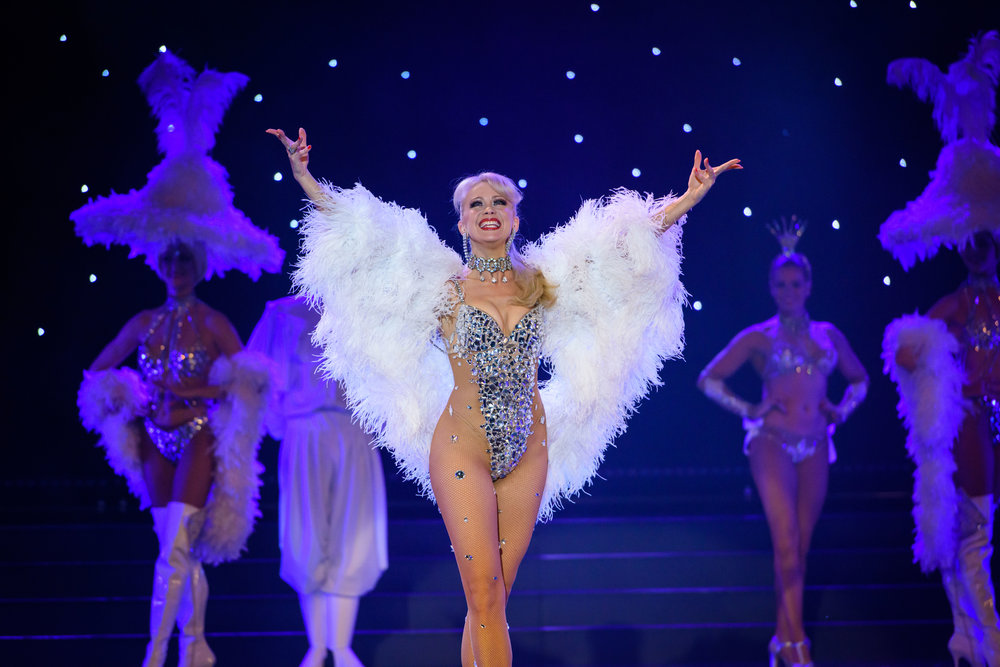"""I'm pretty much Parisian."" - – Cabaret de Paris star, Marissa Burgess"