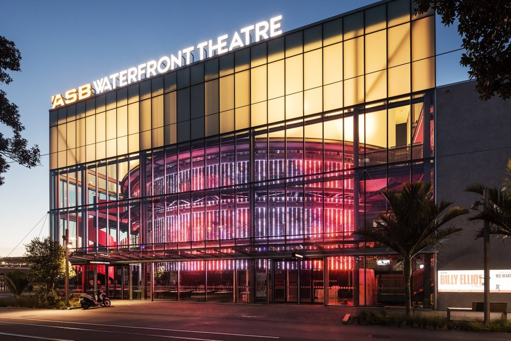 The $36m ASB Waterfront Theatre opened 22 Sept, 2016 - –