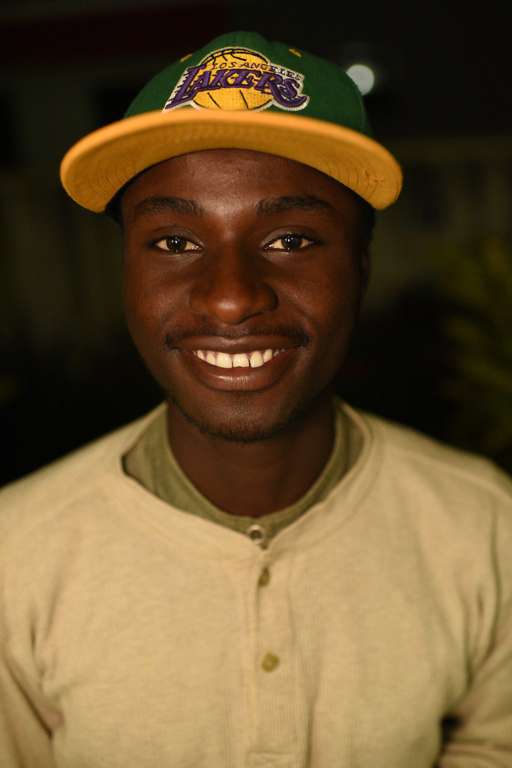 Ananias Cyuzuzo, our of our sponsored young men who got his hip replacement surgery at OrthoNebraska.