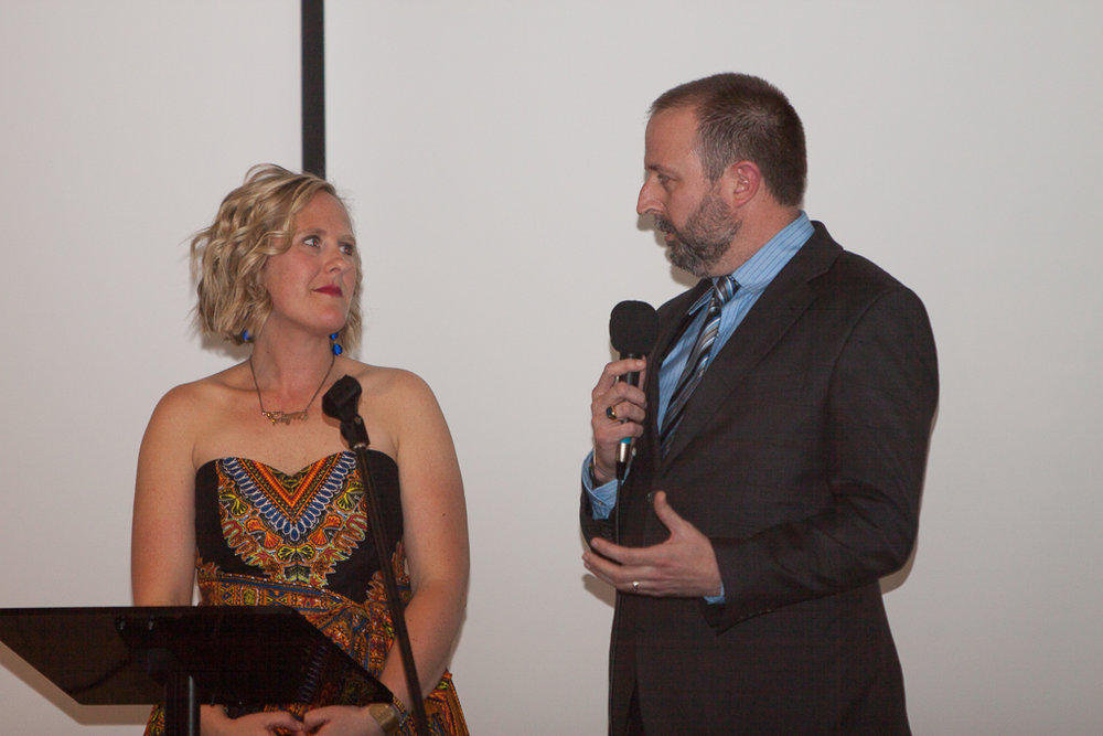 Kara and Ryan Higgins  , our co-founders sharing Imana Kids vision and Hope village updates